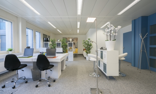 Büro Staging in Winterthur